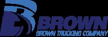 Brown Trucking Co logo