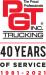 PGT Trucking logo