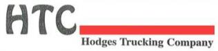 Hodges Trucking logo