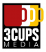 3 Cups Media logo