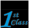 1st Class Transporting logo
